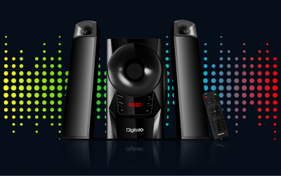 DIGITALX X-F983BT 2.1CH Multimedia Speakers