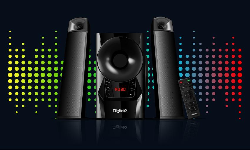 DIGITALX X-F983BT 2.1CH Multimedia Speakers